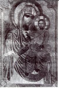 Чудотворная Иверская икона Божией Матери из Вольского женского монастыря.