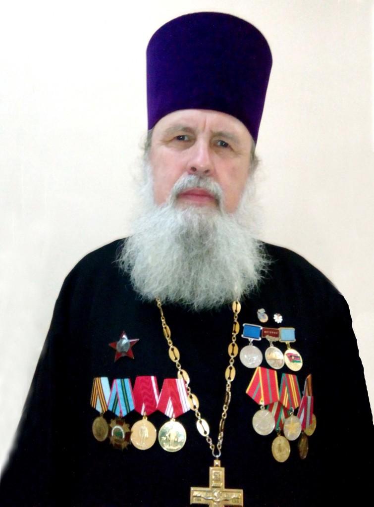 Протоиерей Георгий — штатный священник  Владимирского женского монастыря