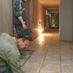 Активно ведутся ремонтные работы в кризисном центре