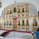 Праздничная служба в честь престольного праздника монастыря, Владимирской иконы Божией Матери