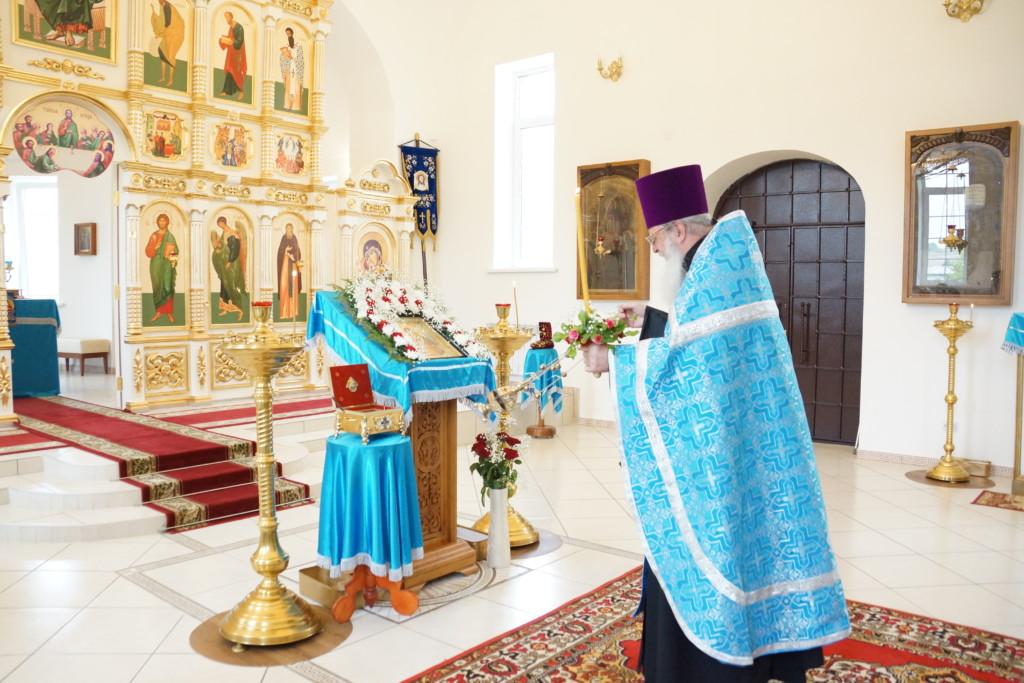 Престольный праздник нашей обители Владимирской иконы Божией Матери