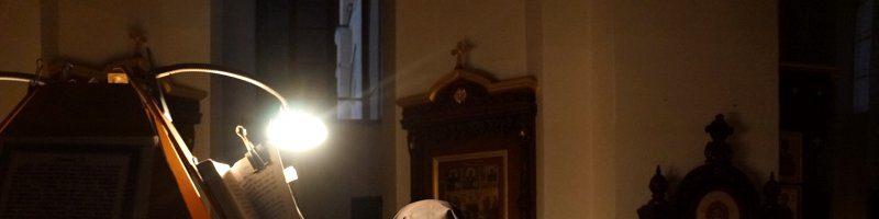 Ночная Литургия Преждеосвященных Даров в Алексеевском Свято-Иоанновском женском монастыре