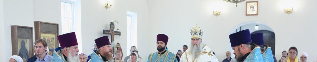Престольный праздник нашего монастыря 3 июня