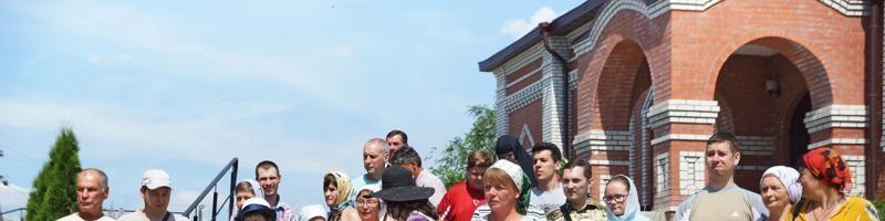 Паломническая группа из Балаково побывала в нашем монастыре