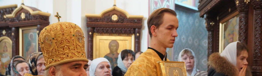В Алексеевском Свято-Иоанновском монастыре прошла архиерейская служба