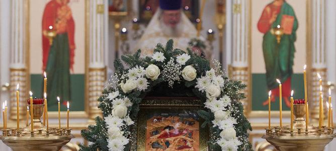 С Рождеством Христовым, дорогие братья и сестры