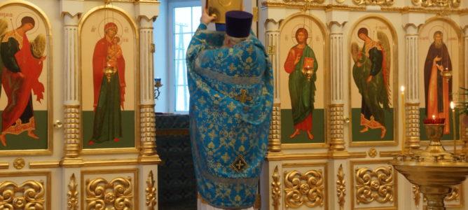 Отдание праздника Сретения Господня и день памяти свт. Тихона