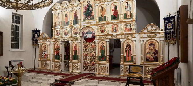 Как прошла Пасха во Владимирском монастыре